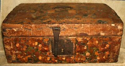 Colonial Era 1700's Hand Crafted Document Box