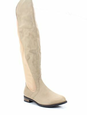 ddf7bdafd7a Chase   Chloe NEW Nude Beige Women s Size 7.5 M Moore Over Knee Boot  95-