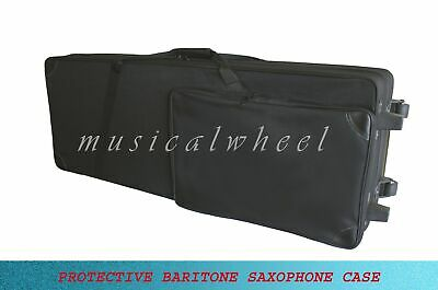 CASE FOR BARITONE SAXOPHONE with two wheels NEW