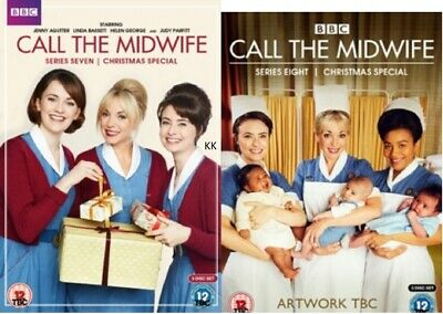 Call the Midwife Season 7 + 8 Series Seven and Eight New Region 4 DVD