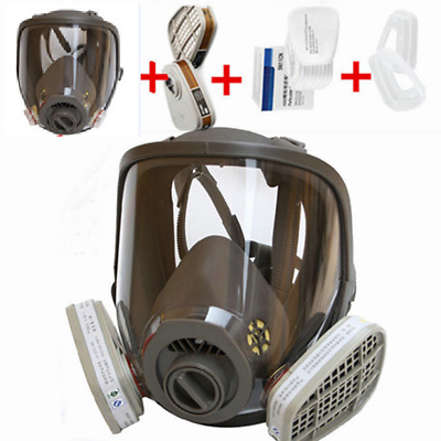 15pcs/Set Full Face Gas Mask For 6800 Facepiece Respirator Painting Spraying