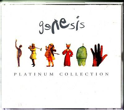 GENESIS- The Platinum Collection 3-CD (Best of/Greatest Hits) Fatbox 2004 Prog