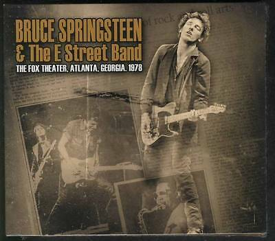 BRUCE SPRINGSTEEN & THE E STREET BAND The Fox Theater  1978 3-CD SEALED DIGIPACK