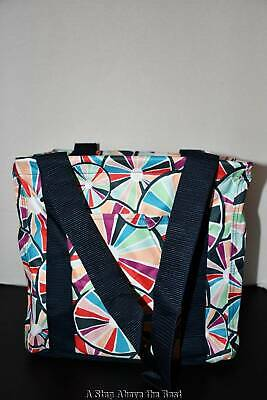 ce8bbc046f4 THIRTY ONE SMALL Utility Tote in Pinwheel Party NWT