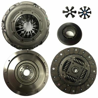 Flywheel And Clutch Kit With All Bolts For A Peugeot 407 Sw Estate 2.0 Hdi