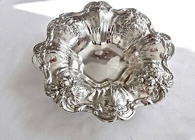 "Reed & Barton Francis I X552 Sterling Silver 11 1/4"" Vegetable Serving Bowl"