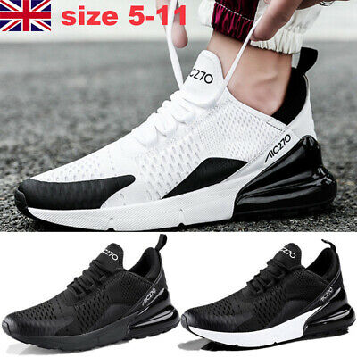 Men Lightweight Running Trainers Sports Casual Breathable Outdoors Lace up Shoes