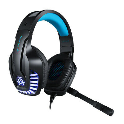 Hunterspider V-6 Mic Stereo Bass Surround Gaming Headset For Laptop PS4 Xbox