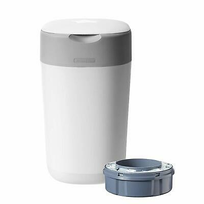 Tommee Tippee Twist and Click Advanced Nappy Disposal Sangenic Bin, White