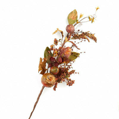 Factory Direct Craft Fall Artificial Berry, Leaf and Fruit Spray