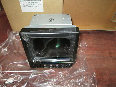 Jaguar S Type  Gps Navigation Screen Module Genuine New Lhd