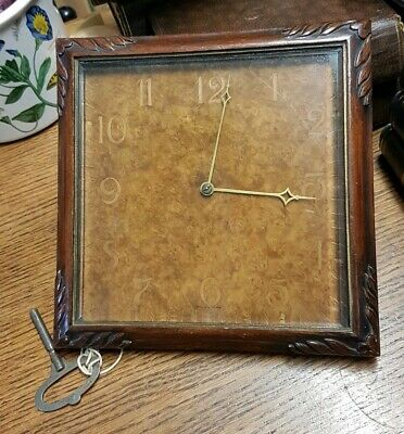 Vintage mantle clock, Made in England with French workings. Picture frame style