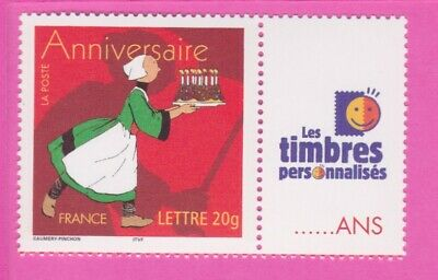 1 Timbre Personnalise Becassine 3778 A Timbres