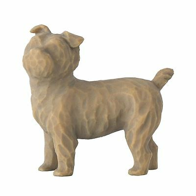 """Willow Tree Love My Dog Small 1.5"""" Standing Pet Sentiment Figure Ornament Gift"""