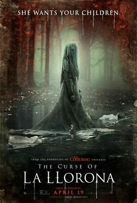 Curse Of La Llorona - original DS movie poster D/S 27x40 FINAL
