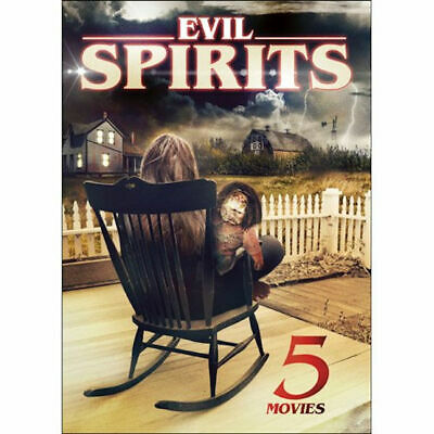 5-Movies: Evil Spirits DVD Richard Crane