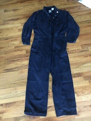 a3c3b86281aa FRC WorkRite Men s Industrial Flame Resistant Coverall Navy Blue Work 50 L