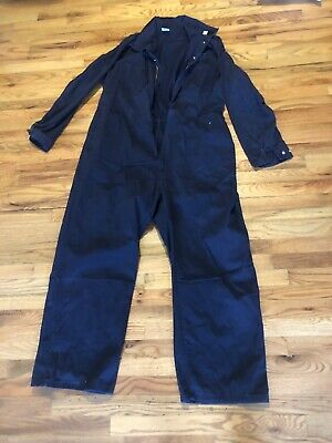 44fea136a60b FRC WorkRite Men s Industrial Flame Resistant Coverall Navy Blue Work Xxl