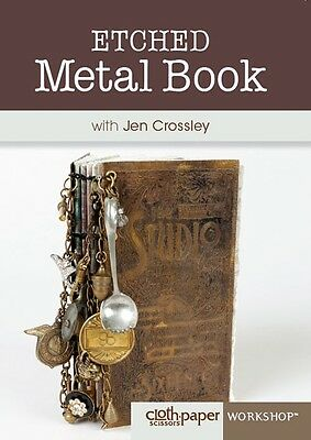 Etched Metal Book with Jen Crossley - DVD