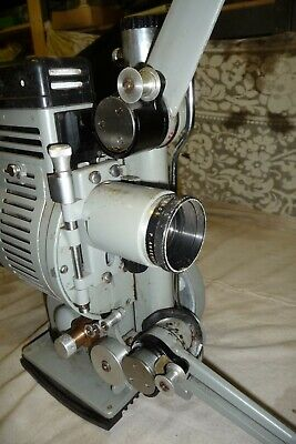 Cine film projector CINETECHNIC DEBRIE 16 16mm angenieux lens no lead NOTtested