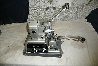 Cine film projector AMPRO 16mm sound working condition museum quality  CDinfo