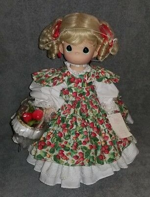 """Precious Moments BERRY SWEET PICK OF THE CROP 16"""" Vinyl & Cloth Doll"""