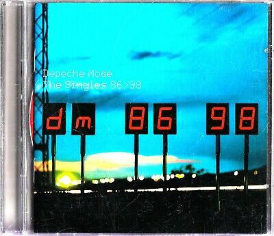 DEPECHE MODE -The Singles 86-98 (2 CD) Best Of 80s (Greatest Hits) Pop/Synth