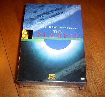 THE PLANETS A&E BBC Planet Space Exploration Solar System DVD SET SEALED NEW