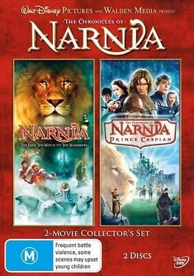 The Chronicles of Narnia : 1 - 2 : NEW DVD