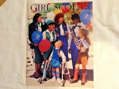 1994 Girl Scout CATALOG, NEW, Badges Uniforms Clothing Jewelry Gifts Combine Shp