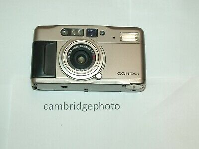 Contax TVS 35mm Point & Shoot Film Camera with ZEISS 35-85mm F2.8-3.5 VARIO SONN