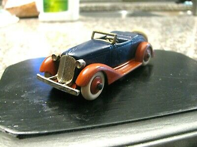 Tootsie toy replacement Graham nickel plated grill  for vintage car