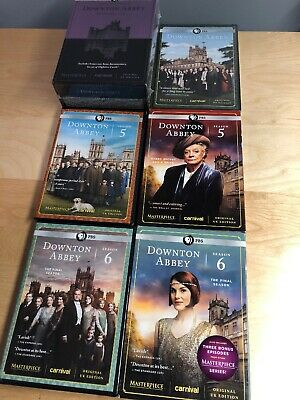 Downton Abbey Complete Series Season 1 2 3 Limited Edition 4 5 6 DVD NEW Sealed
