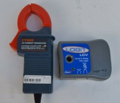 Supco LOGiT LCV Current Voltage Data Logger w/ CT300 AC Transducer
