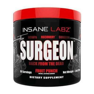 Insane Labz THE SURGEON 30 Serve Amino Acid BCAA Recovery