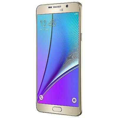 Samsung Galaxy Note 5 32GB Android Unlocked SIM Free Mobile Phone Gold A Grade