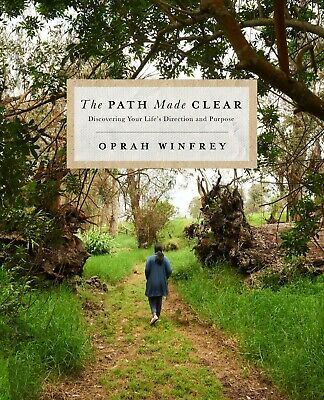 The Path Made Clear Hardcover by Oprah Winfrey Religion Spirituality TOP SELLER