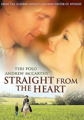 NEW STRAIGHT FROM THE HEART ~ Teri Polo, Andrew McCarthy, Patricia Kalember, Gre