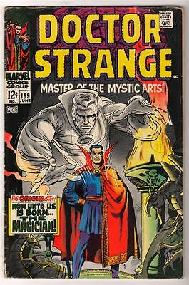 Marvel Comics 5.5 FN- Doctor 169   DR STRANGE  tales 1st own issue