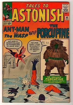 Marvel TALES TO ASTONISH 48  FN+ pence Mid high grade GIANT MAN AVENGERS  6.5