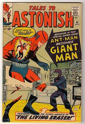 Marvel TALES TO ASTONISH 49 VFN- 7.5 Mid high grade GIANT MAN AVENGERS