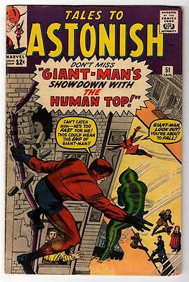 Marvel Comics TALES TO ASTONISH Vol 1 No 51 Giant-Man VG+ 4.5  ANT MAN