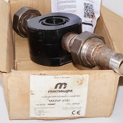 Macnaught MX25F-2SD Positive Displacement Flow Meter- Sender Only