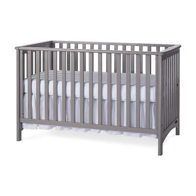 Child Craft 3-in-1 Convertible Crib London Colours, Cool Gray