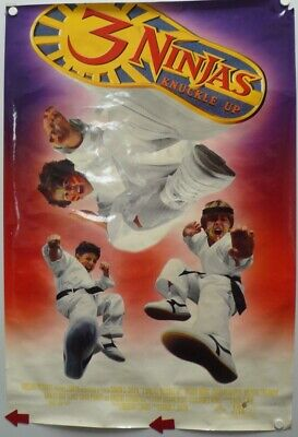 3 NINJAS KNUCKLE UP 1995 Victor Wong,Charles Napier, Michael Treanor, Chad Power