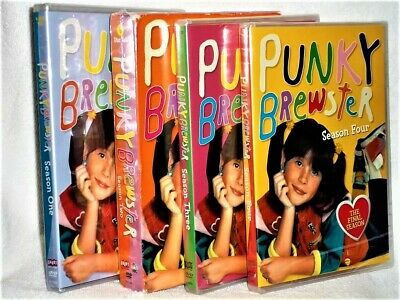 Punky Brewster The Complete Series [1984] (DVD, 2004, 16-Disc) TV family comedy