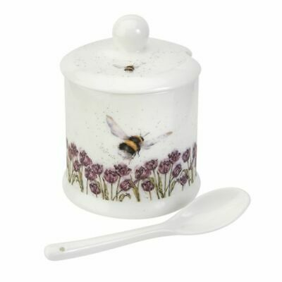 Wrendale By Royal Worcester - 'Flight of the Bumblebee' Conserve Pot and Spoon