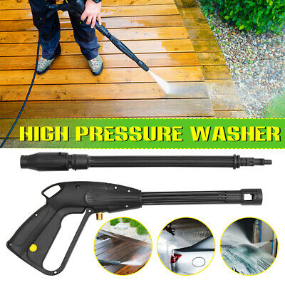 M14 160bar High Pressure Washer Spray Gun Car Wash Cleaning Lance Wand Kit Set