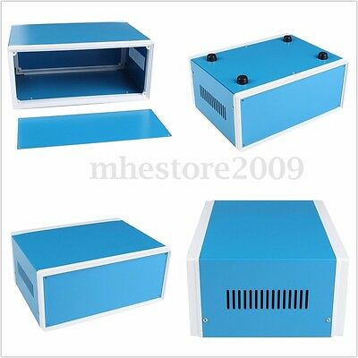 Electronic Project Enclosure DIY Power Junction Box Case Blue 250 x 190 x 110mm