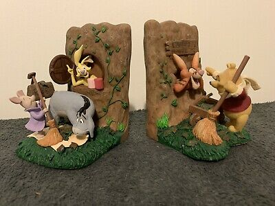 Disney Winnie The Pooh Bookends, Cleaning Leaves